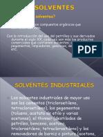 Diapositivas de Solventes