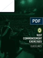 2019 Graduation Guidelines