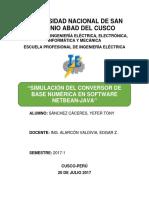 1.1.- Informe de Simulacion Conversion Dec Bin Oc Hexa