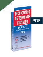 Diccionario de Terminos Fiscales