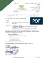 OETC-74 - 400kV Tower Design Inputs to AL-BABTAIN