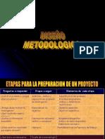 Diseño Metodológico SCEM 2015