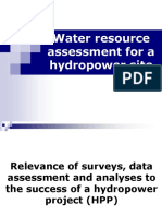 Lecture-1, Water Resource Assessment _flow Rate_, August 2017