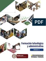Teleologica y Administrativa g 11