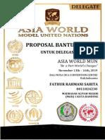 Proposal Bantuan Dana AWMUN