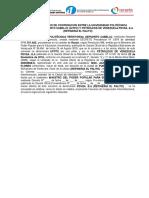 CONVENIO - UPTPC -   PDVSA