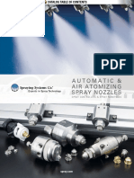Automatic and Air Atomizing Spray Nozzles Catalog