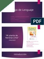 Trabajo de Lenguaje Libro Constanza