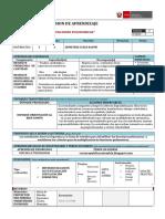 Sesion de Aprendizaje de Funciones Polinomicas II Ccesa007