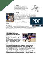 Técnicas básicas del baloncesto