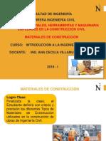 Clase 9.1 Materiales de Construcción v2