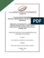 Cableado de Red Metodologia Cisco Huaripata Cajahuaringa Sheyla