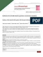 García. 2014. Incidencia de La Alveolitis Dental en Pacientes Con Afecciones Reumáticas