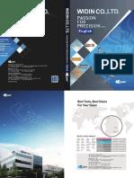 2015 Widin Catalogue