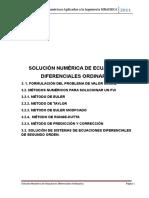 Apuntes Metodos Numericos - Ecuaciones Diferenciales Ordinarias