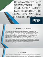Final presentation advantage and disadvantages of socialmedia.pptx