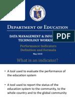 10 Performance Indicators Presentation