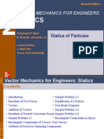 Vector Mechanics by Johnson