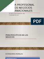 Etica Profesional en Los NI, Sesion 6