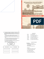 Nociones Generales de La Ciencias Jurídica y Sociales 2019 Guatemala