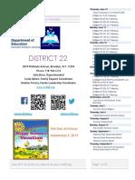 District 22 Newsletter June 2019