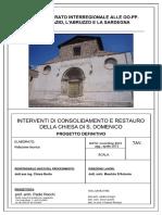 Interventi Di Consolidamento e Restauro Della Chiesa Di San Domenico a L-Aquila