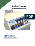 D-Series Syringe Pumps User Manual