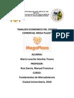 Analisis Economico Del Centro Comercial Mega Plaza