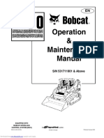 244759072 Bobcat T190 Operation Maintenance Manual
