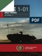 Mfe 1-01 Doctrina