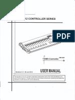 User Manual - DMX 512 Controller Series - Luatek LK-384B
