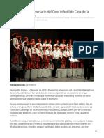 12-06-2019 - Celebra ISC 20 Aniversario Del Coro Infantil de Casa de La Cultura de Sonora - Termometroenlinea.com.Mx