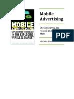 Mobile Advertising Full TOC