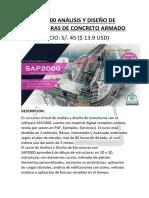 Temario SAP2000