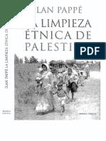 Pappe Ilan - La Limpieza Etnica de Palestina