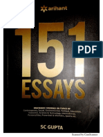 151 ESSAYS - Arihant Publications