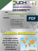 Deriva Continental y Tectonica de Placas