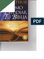 Cómo Estudiar Tu Biblia - Kay Arthur