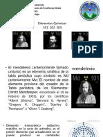 Elementos 101 - 102 - 103