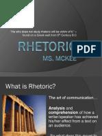History of Rhetoric PowerPoint