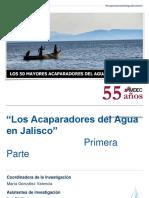 """""""Los Acaparadores del Agua en Jalisco"""""""