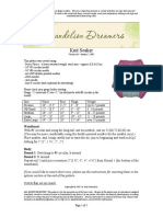 Dandelion Dreamers Knit Soaker