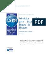 Principios Básicos Para Sistemas de Seguro de Depósitos Eficaces