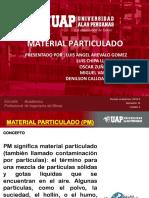 Material Particulado Ppt