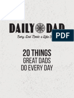 20 Things Great Dads Do Every Day