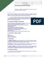 02 Protocolo Para Acceso de Vehículos