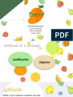 TRABAJO DE FORMACIÓN Y EVALUACIÓN DE PROYECTOS
