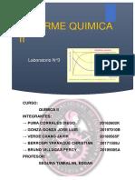Tercer Informe Quimica II