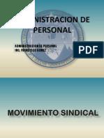 Movimiento Sindical y Relaciones Obrero Patronales