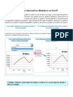 Cómo Crear Gráficos Interactivos Dinámicos en Excel